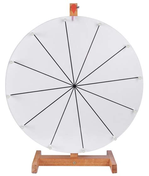 Slot Round Tabletop Prize Wheel Free Template Diy Design Game Trade Show Carnival Spinning Board Spin Wheel Template