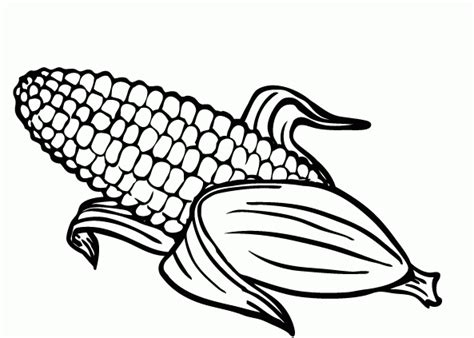 fall indian corn coloring pages coloring pages