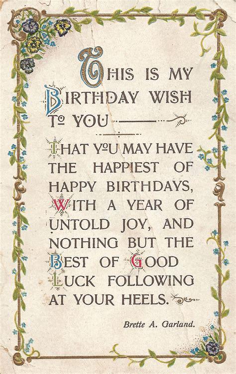 printable vintage greeting cards antique images printable greeting free digital birthday