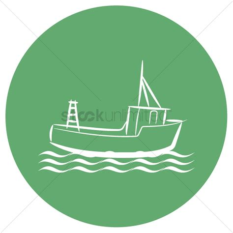fishing boat vector fishing boat vector image 2035358 stockunlimited