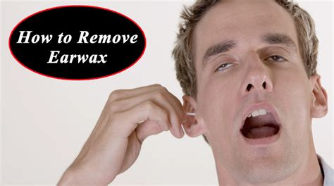 Hair Dryer Ear Wax how to remove earwax 6 methods that really works