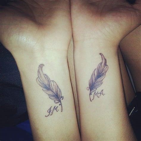 Feather Tattoo Hd | 31 cute tattoo ideas for couples to bond together tattoo
