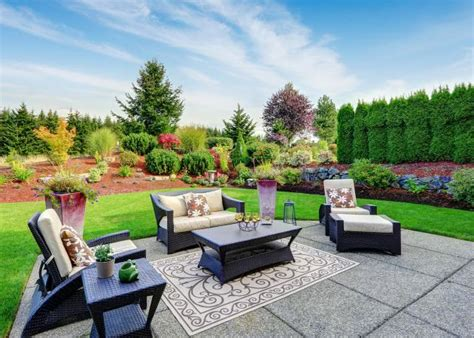 Patio Garden Design Ideas by Garden Patio Design Ideas Lovetoknow