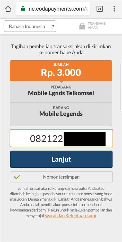 codashop top up mobile legend cara mendapatkan hero freya hanya dengan pulsa 3000 rupiah