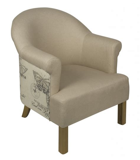 Printed Armchairs by Butterflies Printed Linen Arm Chair Free Delivery Coco54