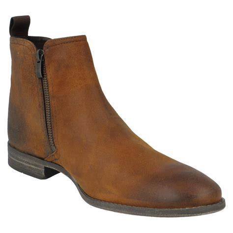 clarks chelsea boots mens s clarks smart chelsea boot style chart zip ebay