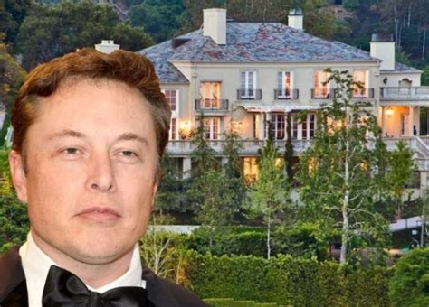 elon musk house elon musk celebrity net worth salary house car