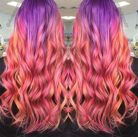 color melt hair technique color melting is the new ombre but better fashionisers