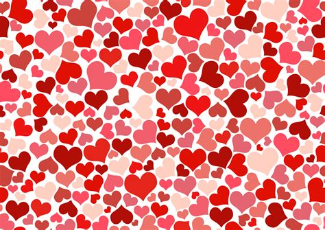 love heart pattern clipart hearts background