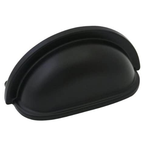 amazon black cabinet pulls cosmas 4310fb flat black cabinet hardware bin cup