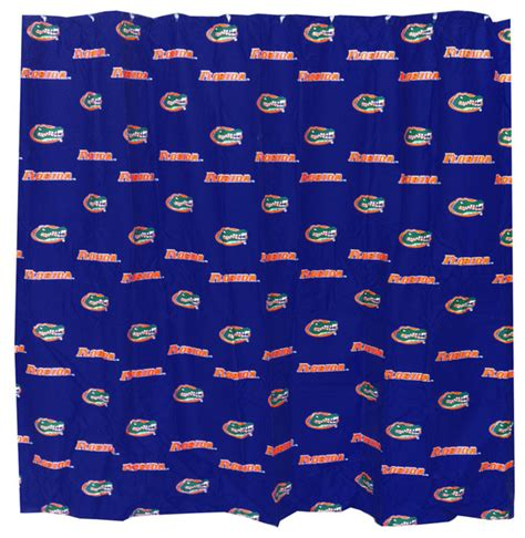 florida gators curtains ncaa florida gators shower curtain bathroom decoration