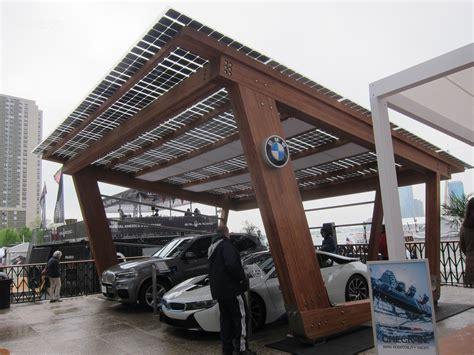 Solar Carport Design america s cup team highlights bmw i solar carport