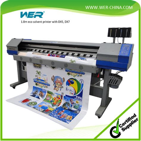 Outdoor Sticker Printer Machine sticker printing machine 1 8m 2 pcs dx5 1440dpi for