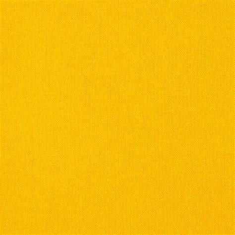 Leather Home Decor by Kona Cotton Solid Corn Yellow Discount Designer Fabric