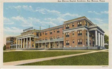 San Marcos Post Office by Postcards From Hays County