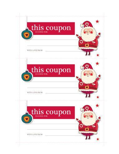 Santa Coupon Free Coupon Ticket Template By Hloom Com Girlfriend Gifts Pinterest Santa Iou Template