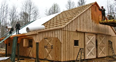 barn roof types pictures of horse barns with living quarters joy studio