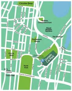 The Domain Map True Local Domain Car Park Sydney Image Car Park Map