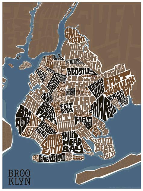 sections of brooklyn brooklyn neighborhood type map