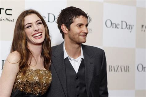 hathaway one day premiere with jim sturgess hathaway one day away from overexposed