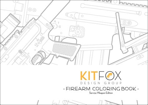 coloring book spotify release kitfox design releases service weapon themed