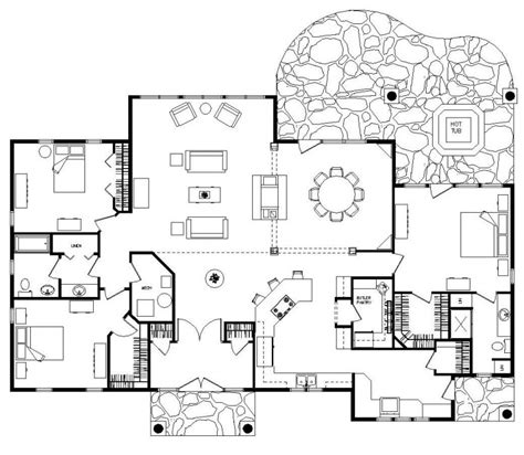 hidden room floor plans hidden room house plans house plans home designs