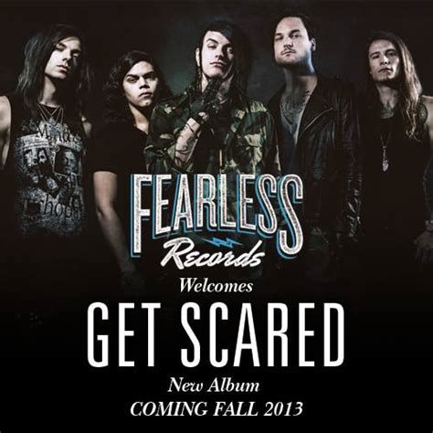 Nick And Were And Fearless In 06 by Get Scared Sign To Fearless Records New Noise Magazine