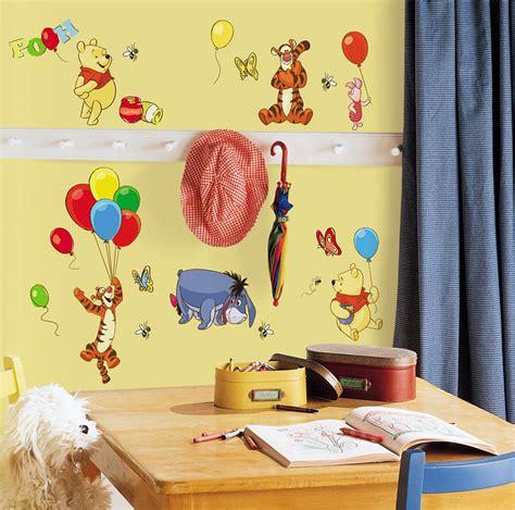 Winnie Pooh Babyzimmer by Roommates Wandsticker Wandtattoo Wandaufkleber Disney