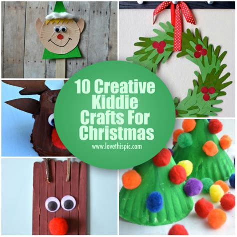 10 creative kiddie crafts for christmas