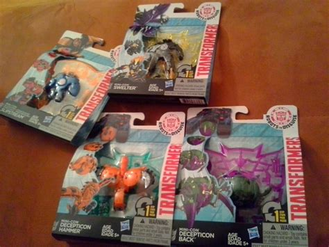 Minicon Retail robots in disguise mini con wave 3 found at us retail transformers news tfw2005