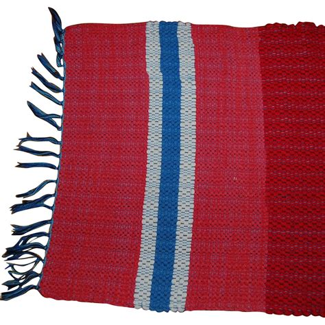 Area Rag Rugs Vintage Amish Rag Area Rug From Starrhillantiques On Ruby