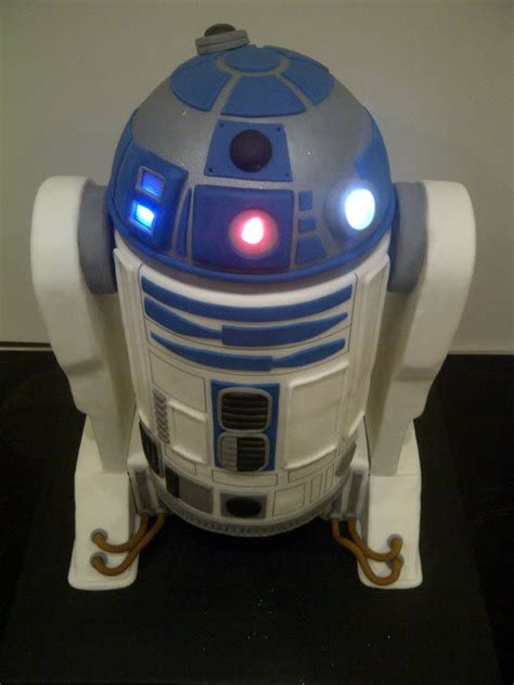 r2d2 lights r2d2 wedding cake with lights cake by cakeycake cakesdecor