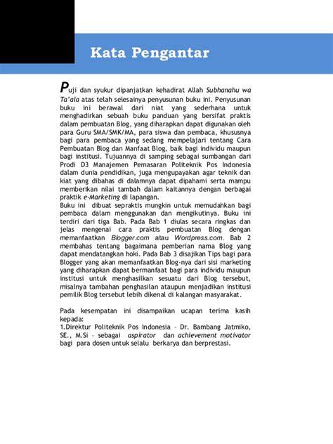 pembuatan kata pengantar dalam makalah contoh kata pengantar dalam membuat resensi kata pengantar