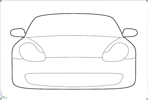 simple car template simple car outline cake ideas and designs