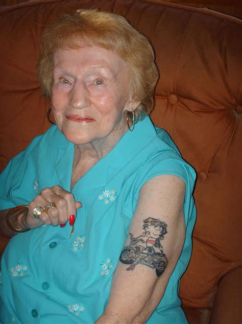 tattooed old lady 41 tattooed seniors answer the eternal question how will