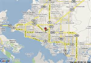 map of roof inn panama city panama city