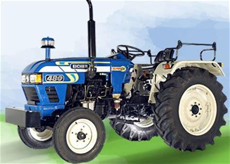 eicher motors price list india eicher tractors 480 details specifications price