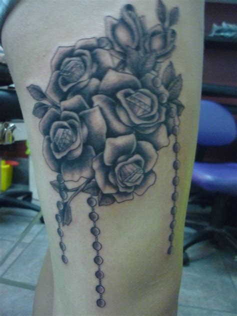 black and gray rose tattoo meaning placement customskinstattoo