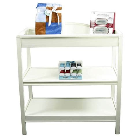Cheap White Changing Table Just One Year Changing Table White Finish Deals Just One Year Changing Table White