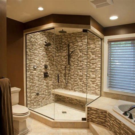 pinterest bathroom shower ideas corner walk in shower idea master bath home decorating