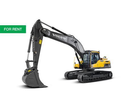 cjd volvo new volvo ec300d for hire cjd equipment