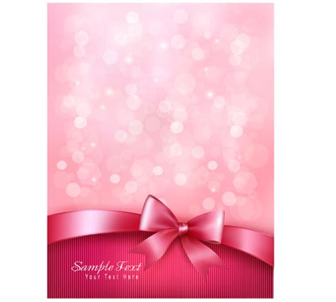 wallpaper pink bow pink bow vector clipart best
