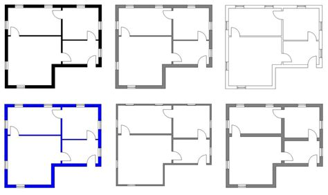 floor plan styles floorplans estate agents