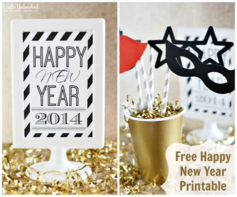 printable happy new year images free printable 2014 happy new year display