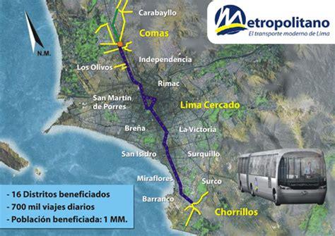 alimentadores estacion matellini metro von lima metropolitano transportsystem von lima
