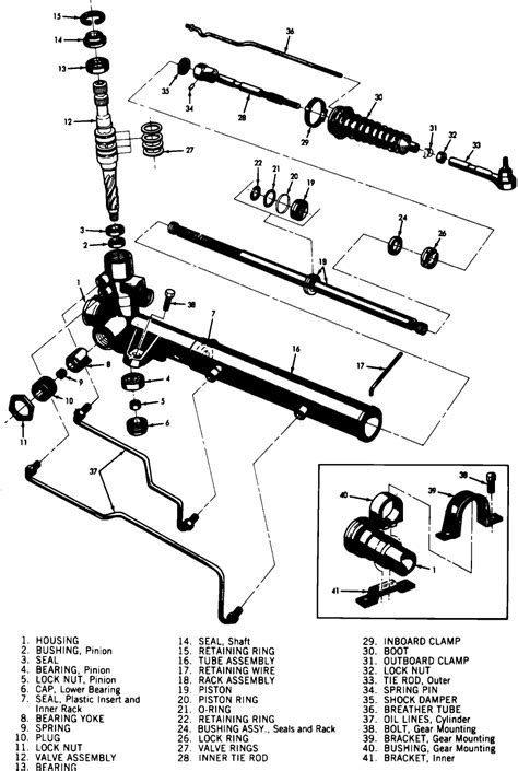 How Much To Replace A Steering Rack by Where Can I Find A Diagram For The Power Steering Rack And