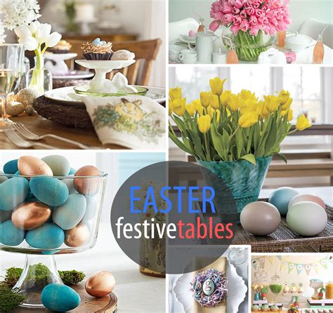 Easter Table Decorations 10 Festive Easter Table Settings