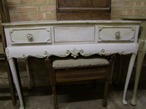 dressing table shabby chic restored shabby chic dressing table and stool rambling