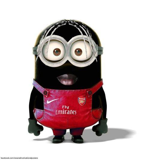Football Minions Arsenal bacary sagna minion arsenal