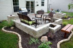 Simple Cheap Backyard Ideas Inspirational Diy Cinder Block Outdoor Furniture And Plans